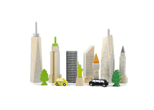 Wonderworld City Skyline Glow Block Set