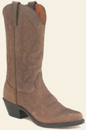 Santa Fe� Womens Distressed Brown Western Boot