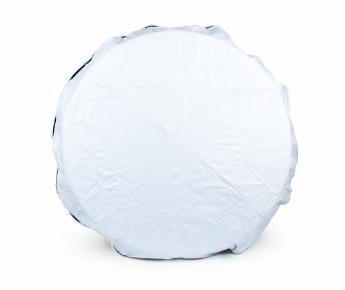Camco 45349 Vinyl Spare Tire Cover (21-1/2 inches , White) Size: 21-1/2 inches Color: White, Model: 45349, Car & Vehicle Accessories / Parts (Camco Spare Tire Cover compare prices)