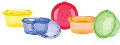 nuby-vaisselle-lot-de-6-bols-picnic-300ml-avec-couvercle