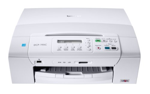 Brother Multifunction Inkjet Colour Printer Network 1200x6000 dpi Ref DCP-197C
