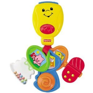 Toy / Game Fisher-Price Brilliant Basics Nursery Rhyme Keys With Different Activities For Babies To Explore front-1023332