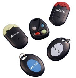 Click n Dig Key Finder Wireless RF Item Locator Remote Control, Pet, Wallet, Keyfinder-Free Extra Batteries