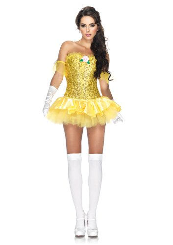Halloween 2017 Disney Costumes Plus Size & Standard Women's Costume Characters - Women's Costume CharactersLeg Avenue Women's 3 Piece Enchanting Beauty Costume