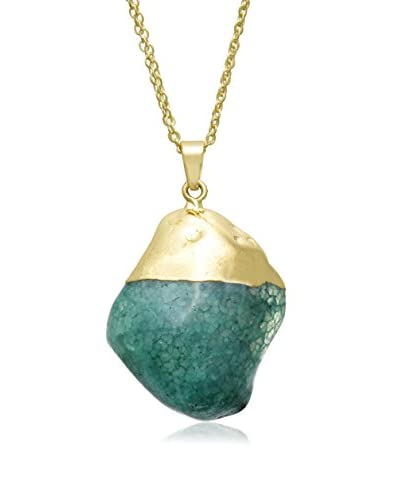 Adoriana 30 Carat Natural Emerald Quartz Necklace