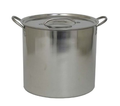 Polar Ware Economy Stainless Steel Brewing Pot, 5 Gallon (Stainless Steel Kettle 5 Gallon compare prices)