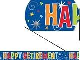 Amscan International Banner 4 Yard Happy Retirement