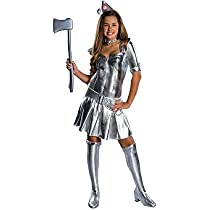 Rubies Costumes 185352 Wizard of Oz Tin Woman Tween Costume