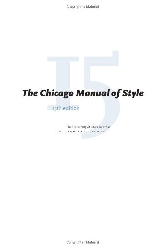 chicago style term paper cover page