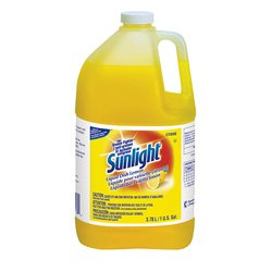 sunlight-95729360-liquid-dish-detergent-lemon-scent-1-gal-bottle-case-of-4