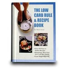 NutraMedia The Low Carb Rule Recipe Book, 1 book
