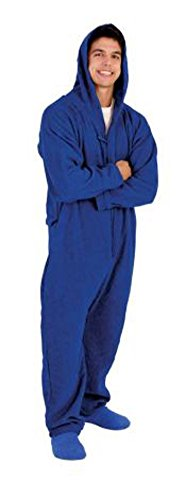 Forever Lazy Lightweight Adult Onesie - Snoozy Bam Bluezy - XL