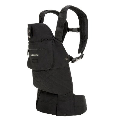 Lillebaby 5 Position Everywear Baby Carrier - Style - Essential Black