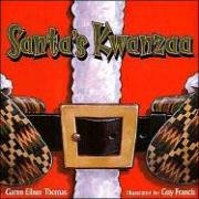 "Cover of ""Santa's Kwanzaa"""