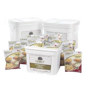 Freeze Dried Survival Food Storage Meals: 360 Large Servings 93 Lbs - Emergency... by Legacy Premium Food Storage