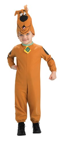 Scooby Doo Jumpsuit And Headpiece Costume