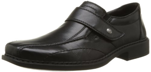 Rieker Men's B0861 00 Lace-Up Flats Black black 8