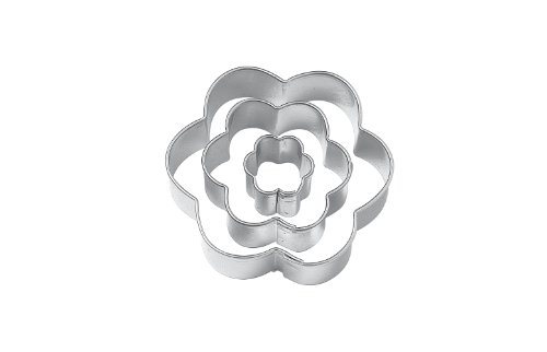 Wilton Set of 3 Flower Cut Outs at Amazon.com