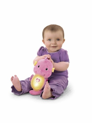 Fisher-Price Ocean Wonders Soothe and Glow Seahorse Pink