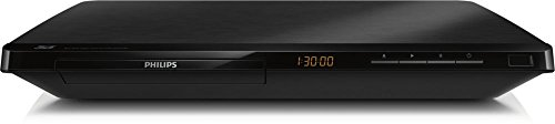 Philips BDP3490M Lecteur Blu-Ray Full HD 3D, DVD, DviX avec port USB, Full HD 3D, Dolby True HD, Noir