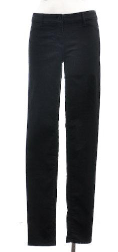 Eileen Fisher Black Stretch Cotton 2 Pocket Jean Legging 4