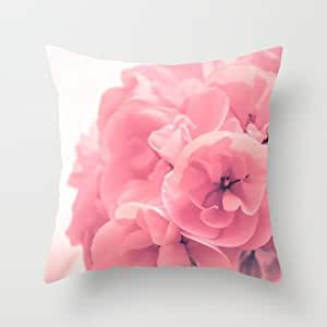 Inexpensive Throw Pillow Inserts : Amazon.com - Simple Design Cheap Pillowcase Pink Throw Pillow