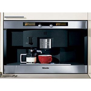 Miele : CVA2660SS 24 Nespresso Coffee System with Large Capacity Container & Patented Brewing Unit