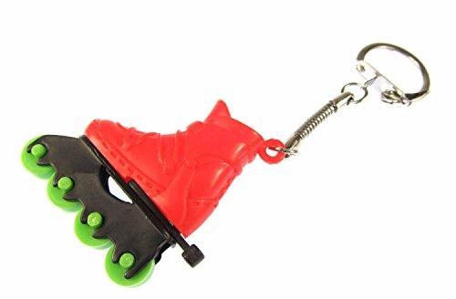 miniblings-rollerblades-roller-loisir-pendentif-de-porte-cles-rouge