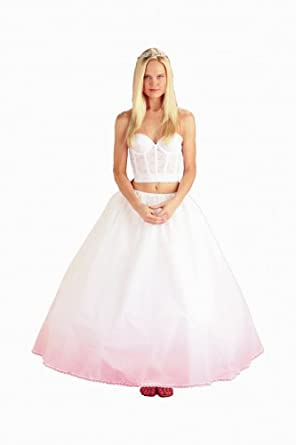 New Drawstring Waist Petticoat Wedding Gown Slip (114DSXF)
