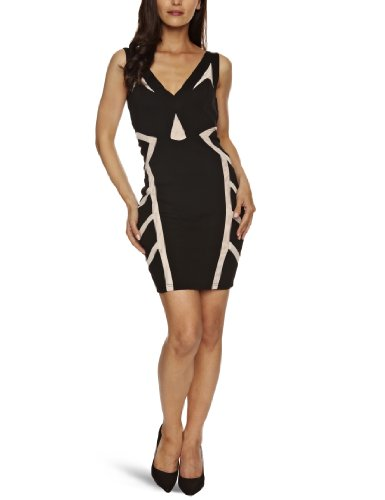 Lipsy JD01287 Sleeveless Women's Dress Black