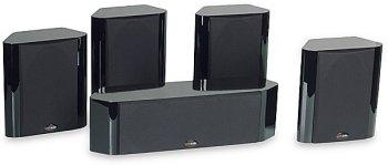 Polk Audio Rm 7600 - 5.0-Channel Home Theater Speaker System - High-Gloss Black