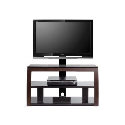 Cheap Brendan 52″ TV Stand with Swivel TV Bracket in Satin Espresso (AV2448-BRE)