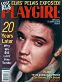 img - for Playgirl Magazine, issue dated September 1997. Lost Sex Photo: Elvis Presley's Pelvis Exposed book / textbook / text book