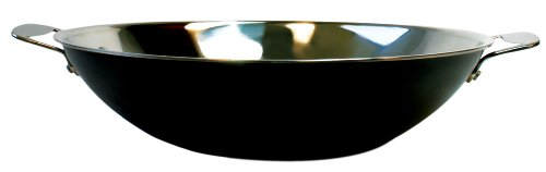 Cheap Tyler Florence 14 Inch Steel Clad Wok with Buffet Handles (TF4014)