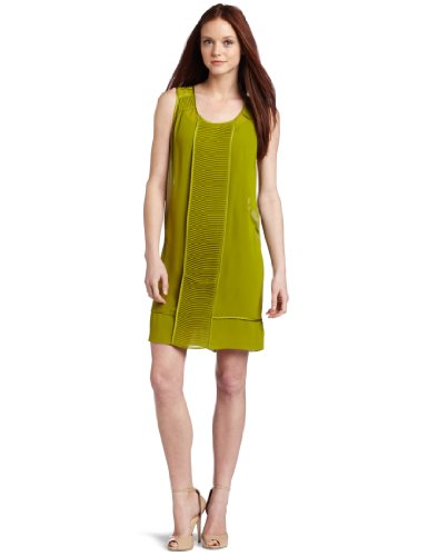 Kenneth Cole New York Women's Petite  Sleeveless Shift Dress