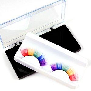 1 Pair 5 Colours Rainbow False Fake Eyelash Eye Lashes
