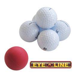 Masters Golfbälle Eyeline Golf - Balls Of Steel, 3 Stück