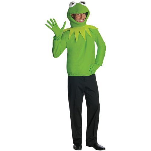 Kermit the Frog Costume - Standard - Chest Size 40-44