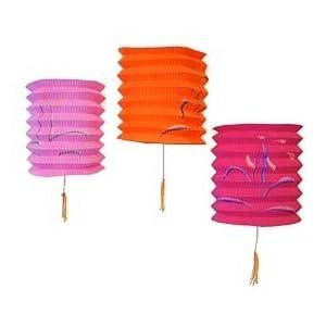 Mini Colored Paper Lanterns