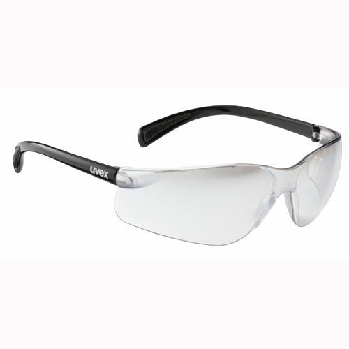 Uvex Flash Fahrrad / Sport Brille black/clear (black shiny/ltm clear) S5302792216