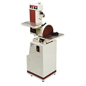 JET J-4202A 3 Phase Industrial Belt and Disc Finishing Machine