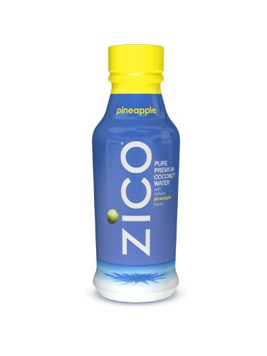 ZICO Pure Premium Coconut Water, Pineapple, 14oz