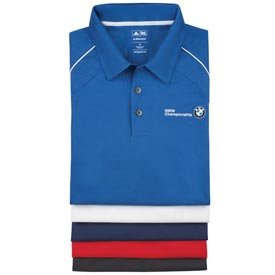 Genuine BMW Men's ClimaCool® Piped Polo Shirt - BLACK - Size Extra Large