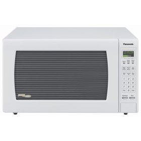 PANASONIC NNH965WF WHITE MICROWAVE 2.2CF 1250W SENSOR