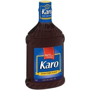 Karo dark corn syrup with refiners 39 syrup 32 for Cuisine karo