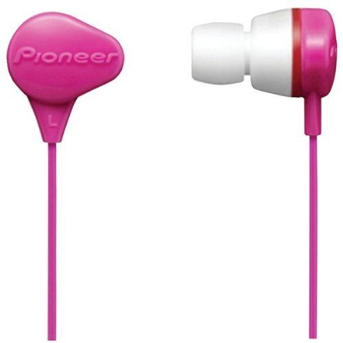 Pioneer Black Se-Cl331-P Waterproof Earbuds (Pink) (Se-Cl331-P) -