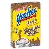Yoo-hoo Chocolate Flavor Mix Singles to Go! 6-packets