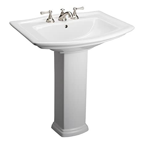 Barclay Washington 550 Pedestal Lavatory 4cc""