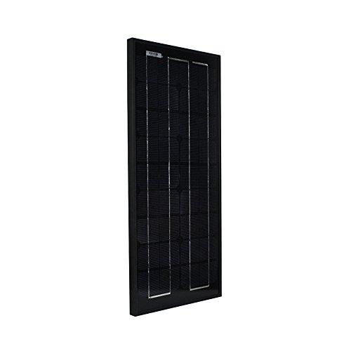 Instapark® NEW All Black 20W High-Efficiency Mono-crystalline Solar Panel