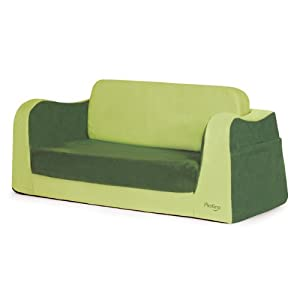 P'kolino Little Sofa / Sleeper - Green by P'kolino